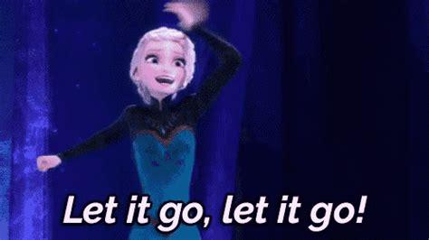 let it go let it go let it go frozen gif letitgo elsa disney