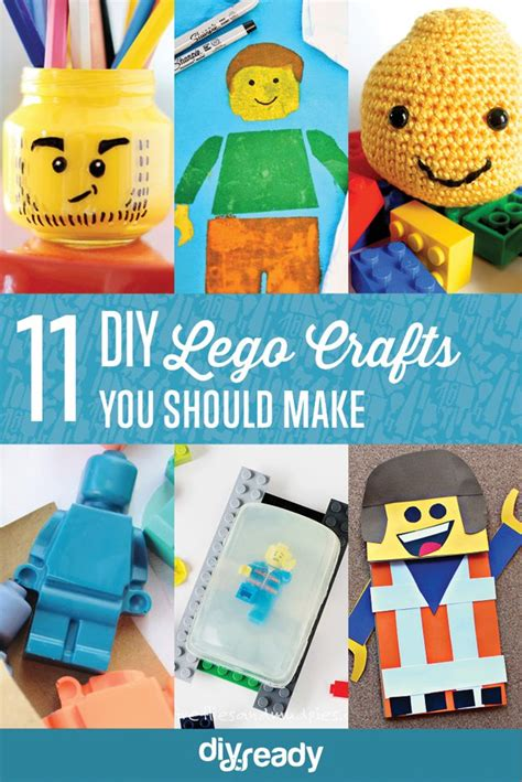 lego crafts for 11 more diy lego crafts to make diy ready