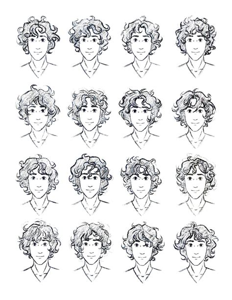 how to draw curly hair the silver eye enel curly hair study by lostie815 on