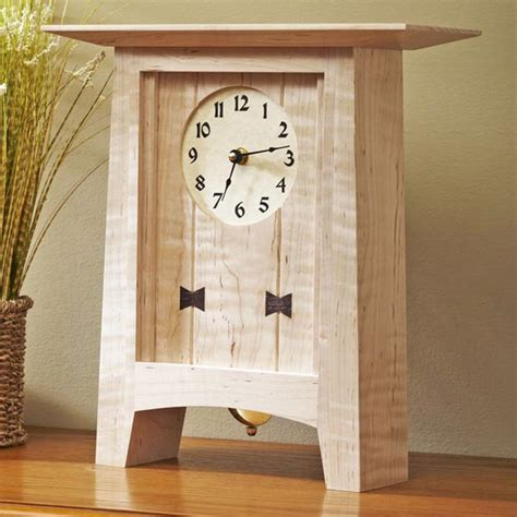 clocks for woodworking projects bow tie clock woodworking plan from wood magazine