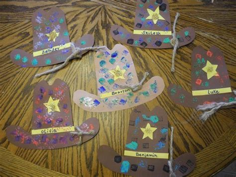 cowboy crafts for cowboy hats from goose time https www