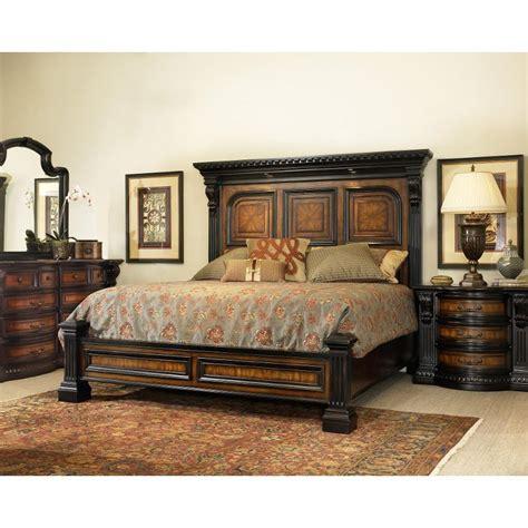 cal king bedroom furniture set grand estates cinnamon 6 cal king bedroom set
