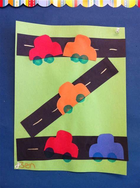 car craft for preschool road car craft arts and crafts