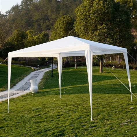 Outside Canopy by 10 X10 Outdoor Canopy Wedding Tent Garden Gazebo