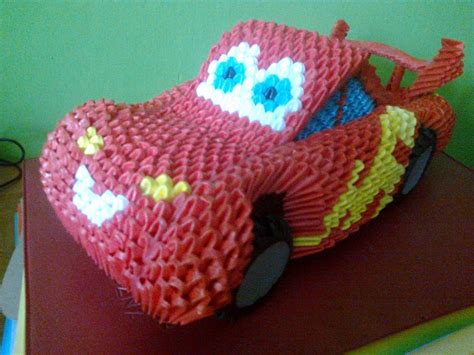 origami 3d 3d origami zig zag car by marcin 3d origami