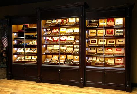 lights displays humidor store led display lights