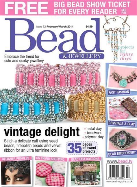 beading magazines bead magazine issue 52 february march 2014 pdf