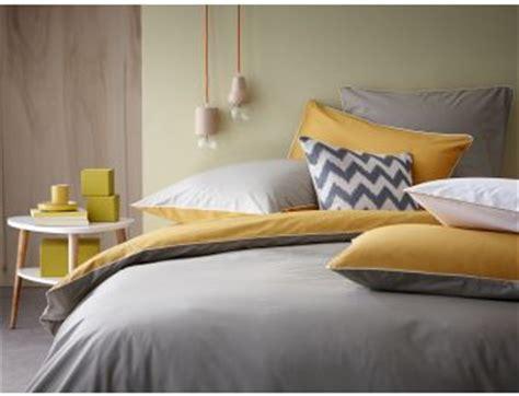 linge de lit taupe safran parure de lit linge de maison housse de couette percale de
