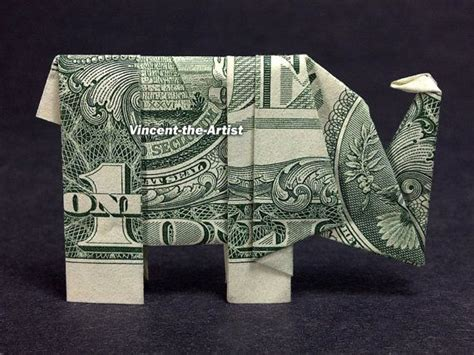 elephant origami dollar bill 17 best images about folding money on tooth