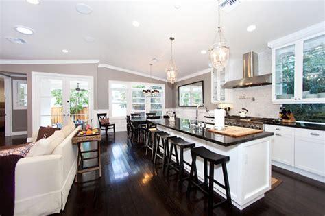 open floor plan kitchen designs superb open kitchen floor plans in contemporary interior mykitcheninterior