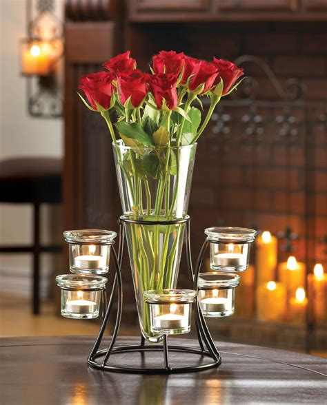 centerpiece vases in bulk circular candle stand centerpiece vase wholesale at