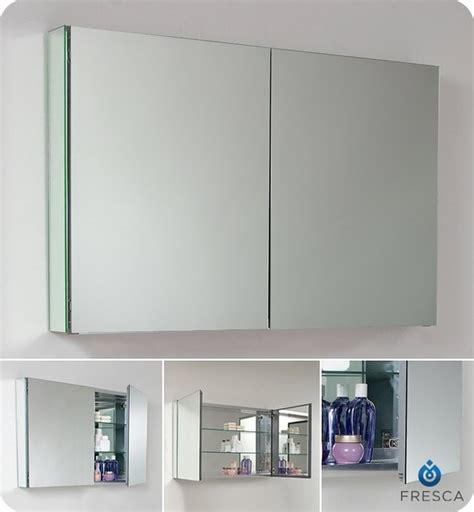 modern bathroom medicine cabinet fresca 40 quot wide bathroom medicine cabinet w mirrors