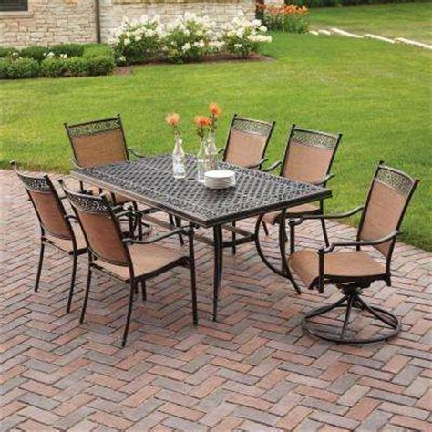 cast aluminum patio furniture sets patio cast aluminum patio dining sets home interior design