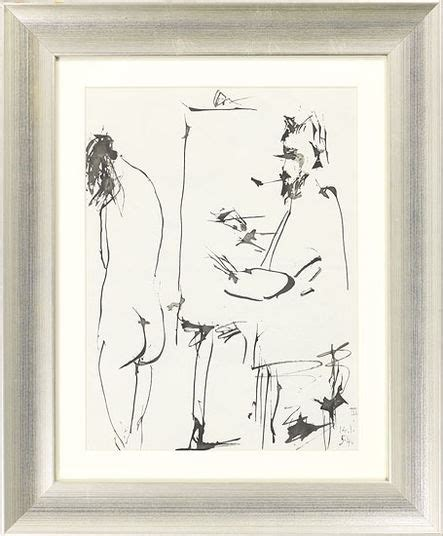 picasso paintings titles painting quot without title quot 1954 framed picasso