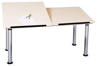 split drafting table shain adjustable height split top drafting table
