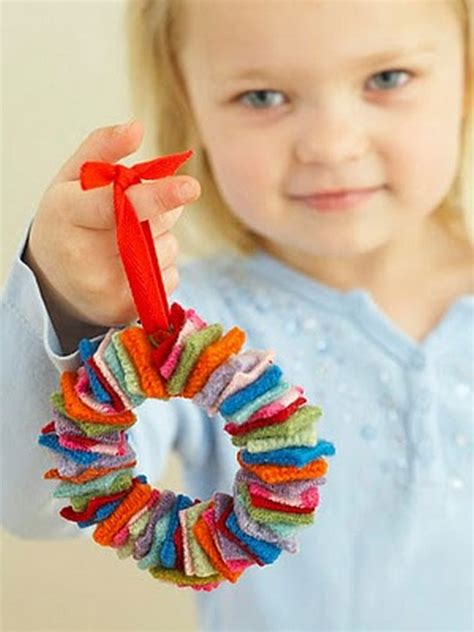 kid ornament craft ideas more diy ornament ideas 41