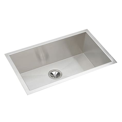undermount single bowl kitchen sink elkay efu281610 avado undermount bowl single basin kitchen