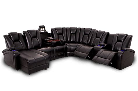home theater sectional sofas seatcraft innovator sectional home theater furniture
