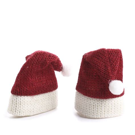 craft hats for miniature knitted santa hats doll hats doll