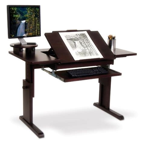 desk with drafting table ah desk for traditional or computer home