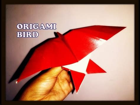 how to make an origami bird that flies how to make an origami bird paper bird in flying