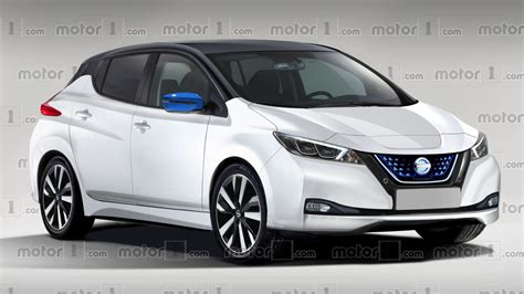Nissan Of by 2018 Nissan Leaf Rendered