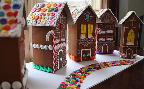 gingerbread house crafts for craftionary