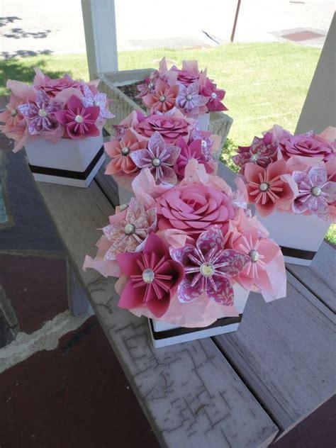 origami centerpieces wedding 25 best ideas about paper flower centerpieces on