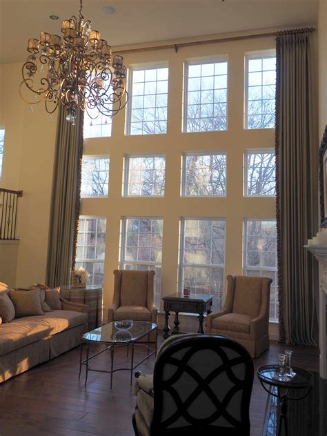 home window treatments two story window treatments ideas roy home design