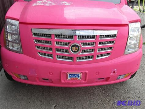 Pink Cadillac Power Wheels by Fisher Price Power Wheels Pink Cadillac Escalade Without
