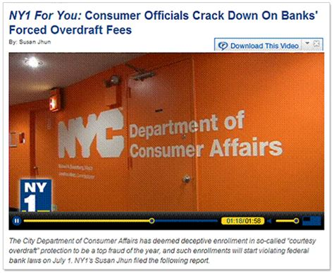 nyc department of consumer affairs on behance