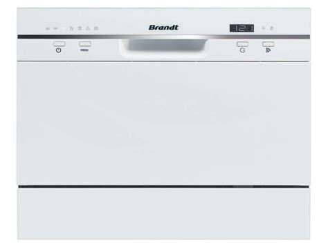 lave vaisselle compact 6 couverts brandt dfc 6519w chez conforama