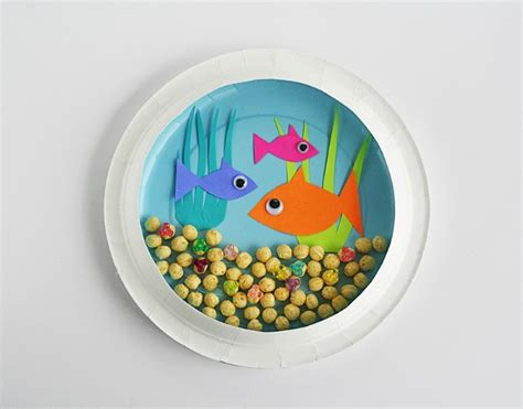Diy Fish Tank Crafts For Children On Aquarium
