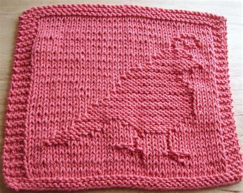 dishcloth knitting patterns digknitty designs partridge knit dishcloth pattern