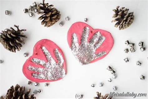 handprint craft for salt dough handprint ornament the easiest way to make