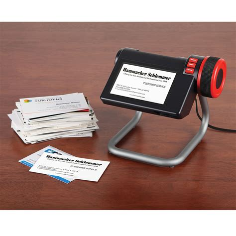 digital card the digital business card organizer hammacher schlemmer