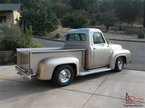 1955 Ford Truck by 1955 Ford Truck Up F 100 Custom Cab