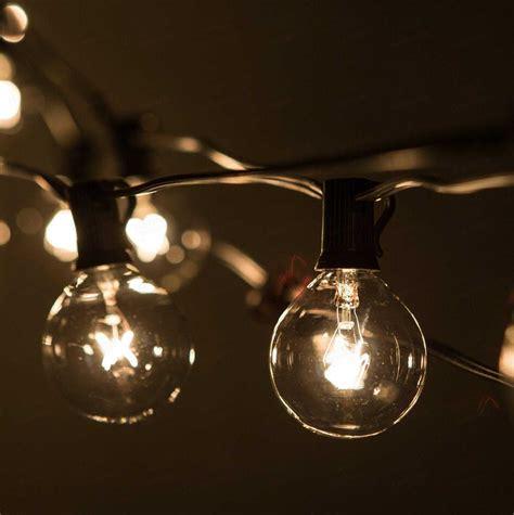 light bulb patio lights string lights patio lighting backyard outdoor indoor 7