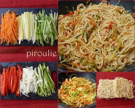 nouilles asiatiques 2 versions v 233 g 233 tariennes ou au poulet p 226 tisseries et gourmandises
