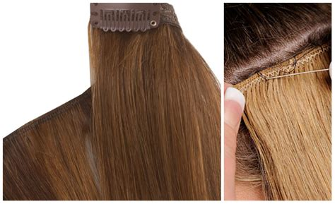 hair extensions using difference between weave hair extensions and clip in hair