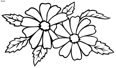 coloring book pictures of flowers dahlia coloring pages