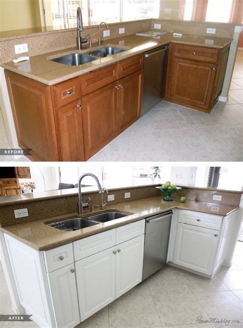 paint my kitchen cabinets white painting kitchen cabinets white before and after