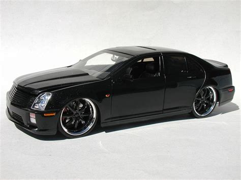 custom clear rubber sts quot black quot cadillac sts v glass model cars