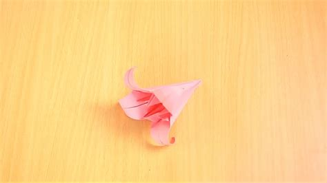 lilly origami how to fold an origami 13 steps with pictures