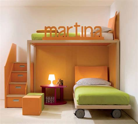 kid bedroom designs cool and ergonomic bedroom ideas for two children by