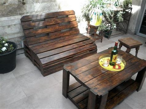 wooden pallet patio furniture furniture ideas with recycled wooden pallets pallet wood
