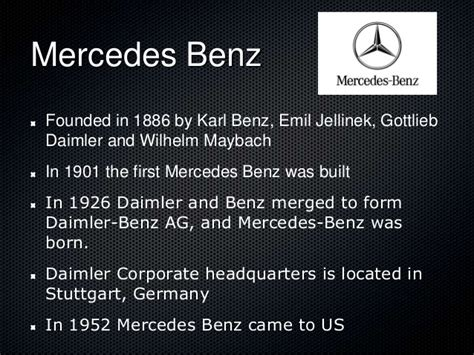 When Was Mercedes Founded by German Automobiles Arise Roby