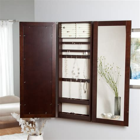 how to make a jewelry armoire 17 varied kinds of wall mount jewelry armoire to get and