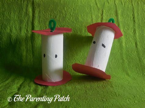 toilet paper craft toilet paper apple craft parenting patch
