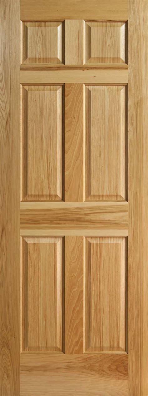 interior panel doors hickory 6 panel interior doors with raised panels